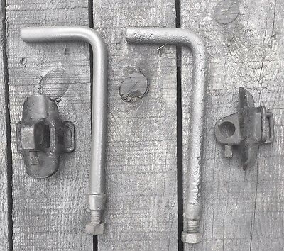 Nickel Buckle Standard Phaeton Model A Ford Top Saddle Straps /& Pads