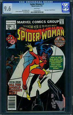 Spider-Woman 1 Cgc 9.6 - White Pages