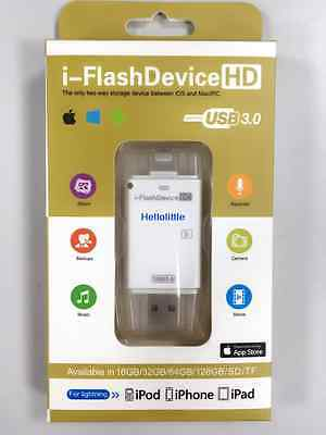 USB 3.0 iFlash Drive 8Pin Slot Card Reader Micro SD/TF card for iPhone 5 5S 6 7