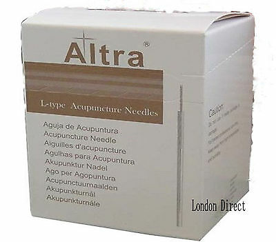75 x 0.30 & 75 x 0.35mm Altra Acupuncture needles guide tube(100 needles/Box)