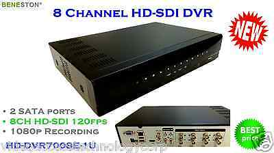 8CH HD-SDI DVR, 1080P real time preview, CCTV Security, SDI Signal Switcher