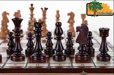 OLYMPIC LARGE  - 40cm / 16in Handcrafted Classic Wooden Chess Set