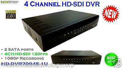 4CH HD-SDI DVR, 1080P real time preview, Mutiview,1080i 60/59.94/50 support