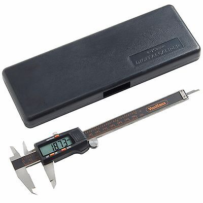 "VonHaus Digital Vernier Caliper Micrometer Tool 6"" 150mm Electronic LCD Display"