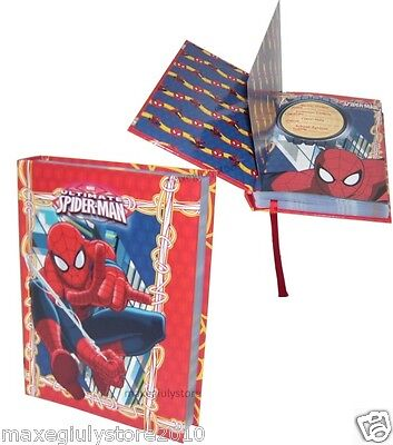 SPIDERMAN DIARIO AGENDA POCKET 12 MESI ORIGINALE MARVEL 56486 RED by MARICART