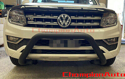 STAINLESS STEEL FOR Nudge Bar Volkswagen Amarok 2017-2019 with Spot Light  Mount