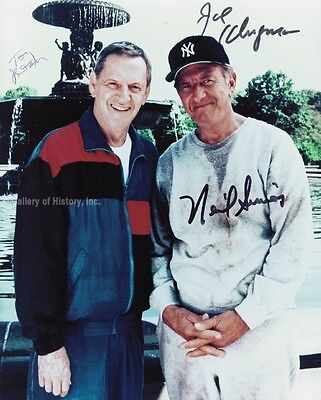 The Odd Couple Tv Cast - Photograph Signed With Co-Signers