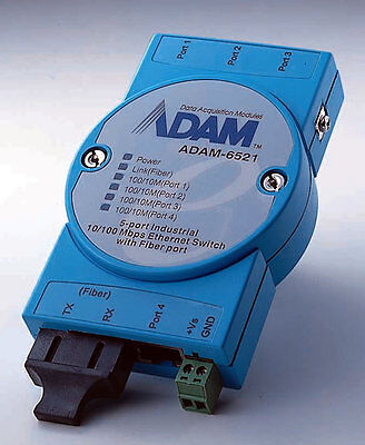 Advantech ADAM 6521 Industrial Ethernet Switch