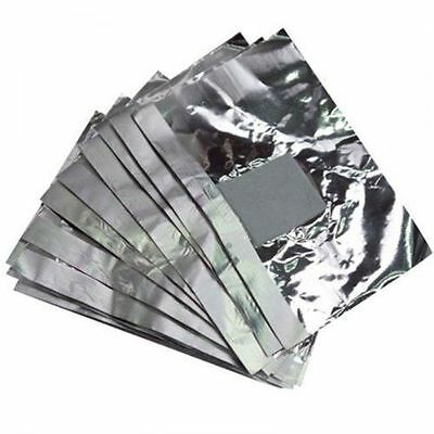 400 Nail Foil Gel Wraps Polish Remover Art Soak Off Acrylic Removal - NO ACETONE