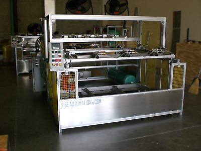 "Sibe Automation Vacuum Forming Machine 48"" X 60"" Top And Bottom Heaters"