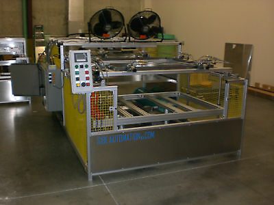 "Vacuum Forming Machine 48"" X 48"" Top And Bottom Heaters"