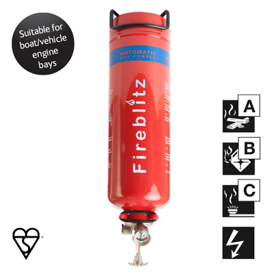 New 1Kg Abc  Dry Powder Automatic Fire Extinguisher (Aps1) - Free Shipping