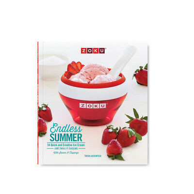 Zoku Endless Summer Ice Cream Recipe Book, 96 Pages,  ZK122