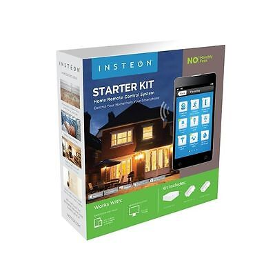 Insteon Home Security System Starter Kit Hub and On Off Modules Brand New