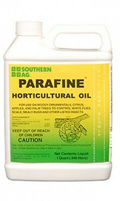 Parafine Horticultural Oil 98% Dormant Insecticide 16oz Pint Southern Ag