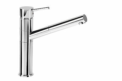 Kitchen Sink Tap Mixer Pull Out Spray, Swivel Spout, Single Lever,chrome Modern