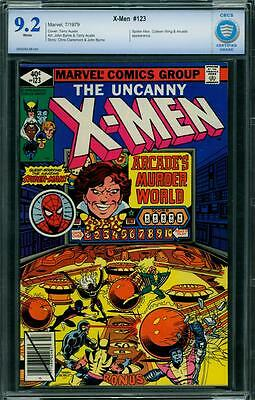 X-Men 123 Cbcs 9.2 - White Pages