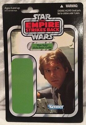SDCC 2010 Hasbro Exclusive: STAR WARS -TESB Han Solo Proof Card Back, NEW