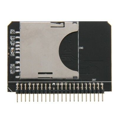 HI TECH SD/ SDHC/ MMC To 2.5 inch 44 Pin Male IDE Adapter Card