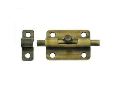 Barrel Bolt 3 inch Solid Brass in 9 Finishes By FPL Door Locks & Hardware