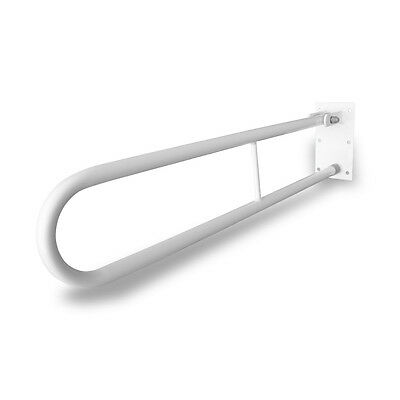 Hinged Folding Grab Rail, Drop Down, Disabled Bathroom Support, Mobility