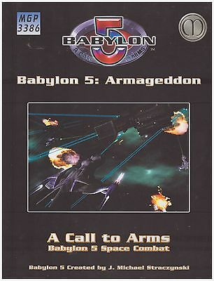 Mongoose Babylon 5 Call to Arms Armageddon HC New