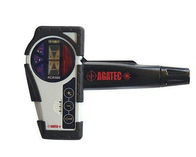 AGATEC RCR500 Rotary Laser Level Detector & Clamp w/Integrated Remote Control 77