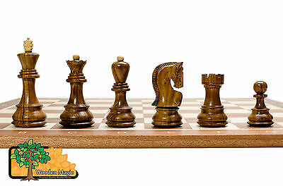 Rosewood Stauton Pro Professional Chessboard No 5