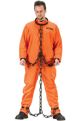 Brand New Prison Jail Cell Block Chain Gang Links Costume Accessory