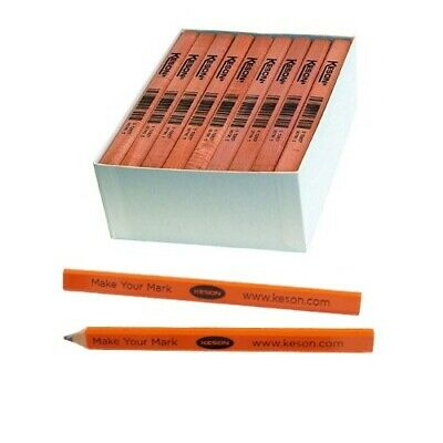 Keson Carpenters Pencils 72 per Box 11671