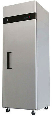 "NEW MBF8001 - Single 1 Door 29"" Stainless Steel Commercial Reach In Freezer"