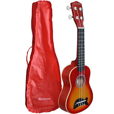 Brand New Soprano Dolphin Ukulele Basswood Body Nato Neck Timber With Carry Bag