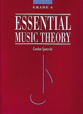 Essential Music Theory Grade 4 - Gordon Spearritt Book *NEW* AMEB syllabus