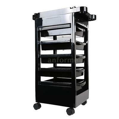 Hairdressing Storage Trolley Beauty Salon Spa Rolling Cart Stylist Station L1S8