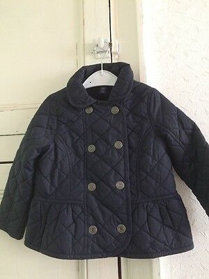 Gap Girls Navy Jacket Very Cute Age 3. Next Day Post.