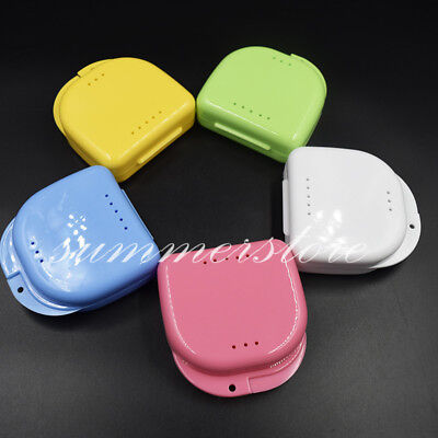 20 Pcs Dental Retainer Orthodontic Mouthguard Denture Storage Cases Box