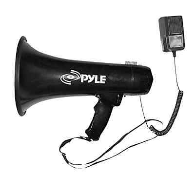 Professional 40 Watts Megaphone/Bullhorn w/ Siren & 3.5mm Aux In For Mp3 Music