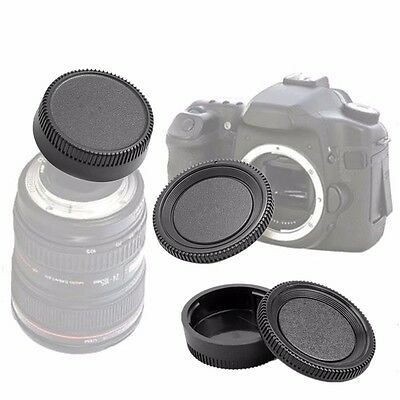 1 Set Body Cap and Lens Rear Cap Set for Nikon F Mount SLR DSLR Camera AU