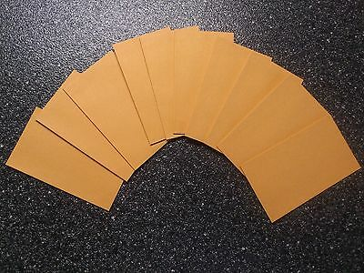 Tudor size 3 gold envelopes - craft, jewellery, seeds - Packs of 10, 20 or 50