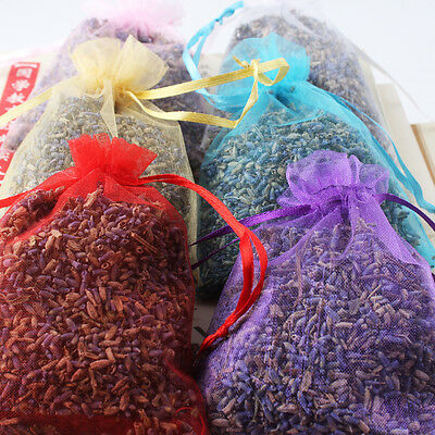 1/5/10x  Lavender Bags Sachets Wardrobe Drawer Aromatic Repel Calming Air Fresh