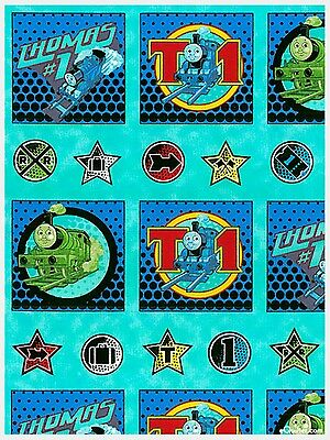 Thomas The Tank Engine Quilt Panel * In Stock * Free Post *