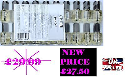 CND SOLAR OIL Nail & Cuticle Conditioner 3.7ml X 20 PACK - £27.50   (1.37 EACH)