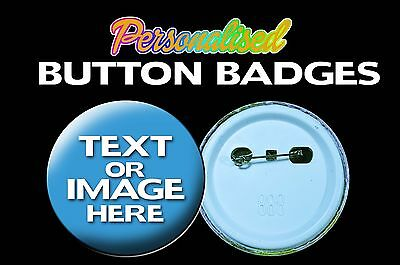 Personalised Button Badge 58mm