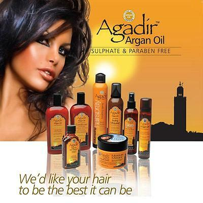 Agadir Argan Oil Sulfate Free Daily Moisturising Shampoo,Conditioner, Mask & Oil