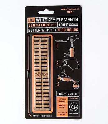 Time and Oak Signature Whiskey Elements Set of 2 100% Natural Better Whiskey