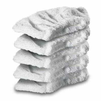 5 x KARCHER SC2 SC3 SC4 SC5 Steam Cleaner Terry Cloth Hand Tool Cleaning Pads