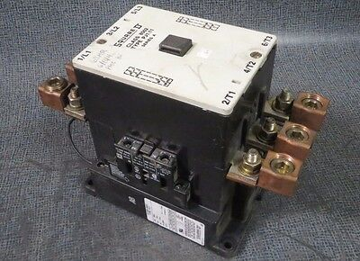 Square D Contactor Type Pj1.11 Class 8502 --- 125 Amp 600V With 120V Coil