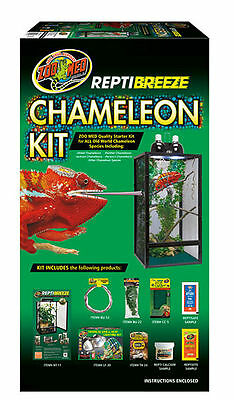 Zoo Med ReptiBreeze Chameleon Kit 41x41x76cm ReptiBreeze Starter Kit