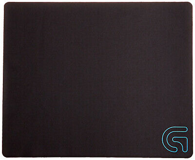 Logitech G240 Cloth Gaming Mouse Pad Thin Profile Low DPI Mousemat Flexibility