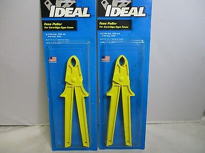 Ideal Fuse Puller # 34-016 For Cartridge-Type Fuses (Lot of 2)